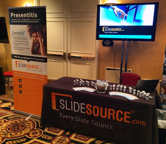 SlideSource Expo Booth